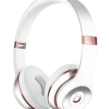 Marbleized Swirling Pink Border v5 Full-Body Skin Kit for the Beats by Dre Solo 3 Wireless Headphones