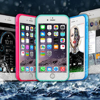 Waterproof Case Cover for iphone 5s 6 6s Plus