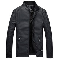 New Men's Leather Jackets