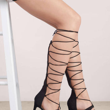 Bailey Lace Up Heels