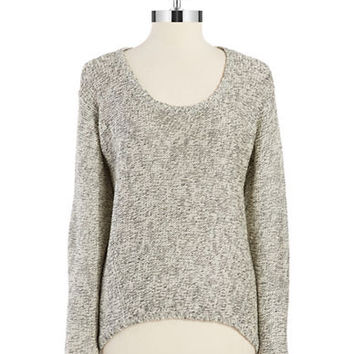 Rd Style Hi Lo Marled Sweater