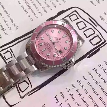 """ROLEX"" Women Fashion Simple Quartz Watch Casual Wristwatch"