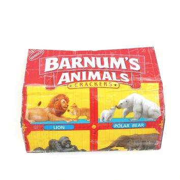 Cute Small Women's Wallet, Barnum Animal Crackers Novelty Coin Purse
