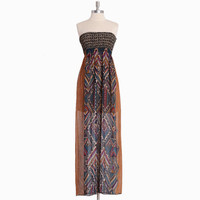 boracay island strapless maxi dress - $42.99 : ShopRuche.com, Vintage Inspired Clothing, Affordable Clothes, Eco friendly Fashion
