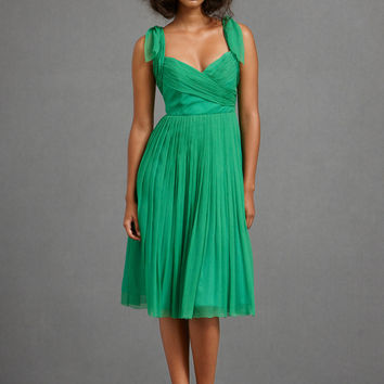 BHLDN Sway-And-Swirl Dress - Kelly Green