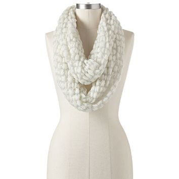 Apt. 9 Space-Dyed Lurex Infinity Scarf