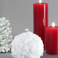 """Snowball Candle 3"""""""
