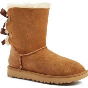 DCCK8X2 UGG? 'Bailey Bow II' Boot (Women) | Nordstrom