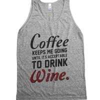 Athletic Grey Tank | Funny Gifts For Moms