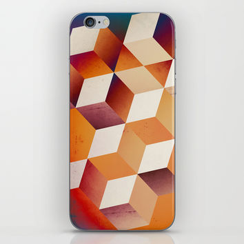 Oil Slick Cubes iPhone & iPod Skin by DuckyB (Brandi)
