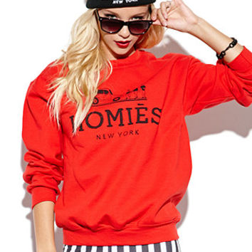 Reason Homies Crew Fleece at PacSun.com