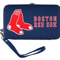 Boston Red Sox Shell Wristlet