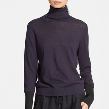 Women's rag & bone 'Jessica' Wool Blend Turtleneck Sweater,