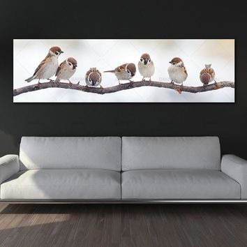 Poster Animal birds canvas picture paintings on the wall painting  home decoration picture wall art canvas Painting no frame