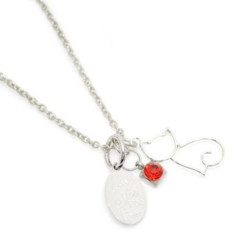 Customize Your Pet Lover's Necklace-Add Additional Charms