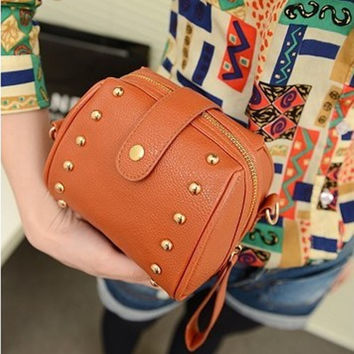 Stylish Korean Camera Shape Mini Shoulder Bags Bags Lovely Ladies Purse [6582697223]