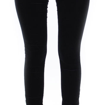 AG jeans | the velveteen legging (super black)