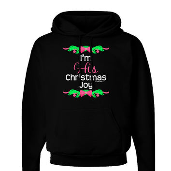 His Christmas Joy Matching His & Hers Dark Hoodie Sweatshirt