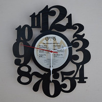 Vinyl Record Album Wall Clock (artist is The Carpenters)