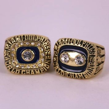 USA Size 8 to 14! Factory price 1972 1973 Miami Dolphin world championship rings replica solid ring drop shipping