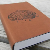 Human Brain Pocket Journal Sketch Book Pad