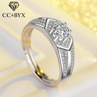 CC Vintage Men Ring Trendy Jewelry For 2017 Bridegroom Wedding Jewelry Engagement Party Hombre Love Promise Anello Ore CC698