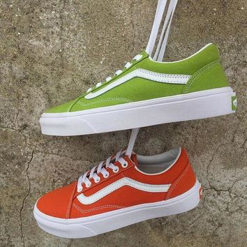CREYONS Trendsetter Vans Old Skool Canvas Flat Ankle Boots Sneakers Sport Shoes