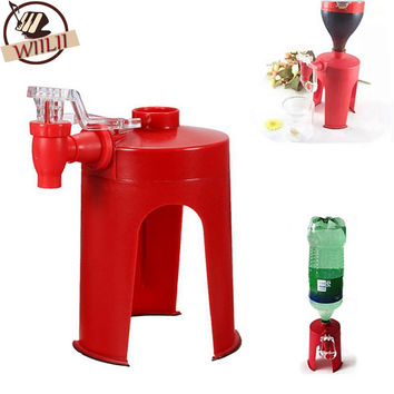 Novetly HouseHold Portable Bar Kitchen Accessories Drinking Dispense  Cool Soda Water Coca Coke Fizz Gadget Saver Dispenser