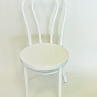 Thonet bentwood chair {White}