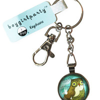 Horned Owl Keychain