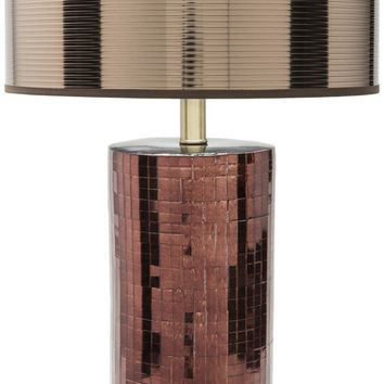 Linnell Modern Table Lamp Copper Finish Bronze