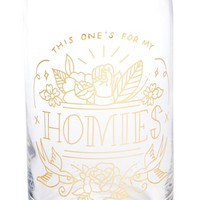 Easy, Tiger Homies Beer Glass | Nordstrom