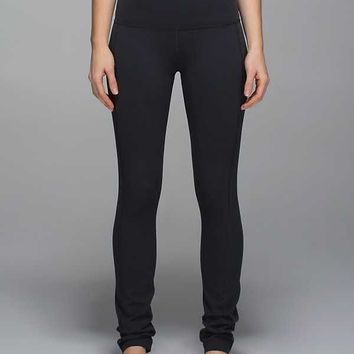 Skinny Groove Pant II *Full-On Luon (Roll Down)
