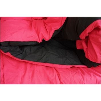 Black/Cherry Pink Reversible College Comforter - Twin XL College Essentials Bedding For College Students Comforters Extra Long