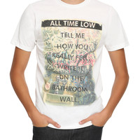 All Time Low Bathroom Wall T-Shirt