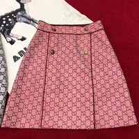 GUCCI GG High Waist Skirt