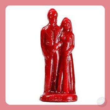 Red Marriage Candles
