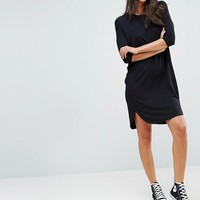 ASOS TALL Oversize T-Shirt Dress with Seam Detail at asos.com