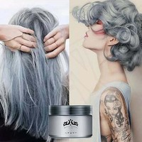 Fashion Unisex Professional Easy Modeling Temporary Dye DIY Hair Color Wax Hair Cream
