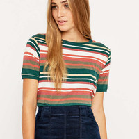 BDG Double Stripe Tee - Urban Outfitters