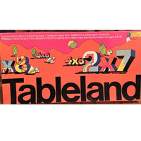 """Vintage 1988 Educational Board Game """"Tableland"""" a Board Game Designed to Help Children Learn their Times Tables / Jigsaw Toy Factory"""