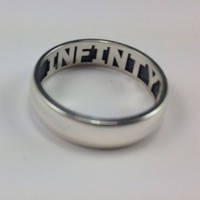 Sterling Silver Ring w/ Inside Engraving| Inscription