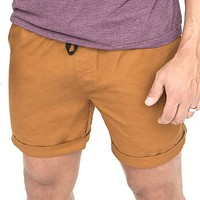 The 'Paradise' Stretch Twill Short in Copper Sizes L & XL Available