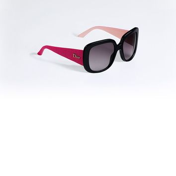 "DIOR LADY LADY Black, fuchsia and pink ""Dior Lady Lady 1"" sunglasses"