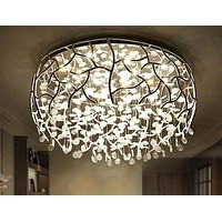 Nordic Luster Alloy Finish Ceiling Lamp