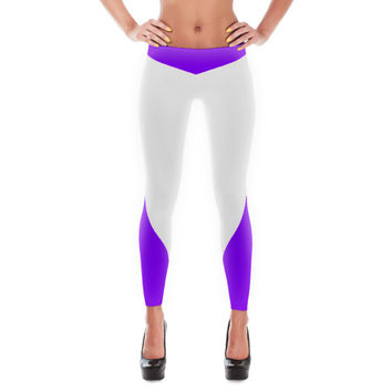 Purple Super Hero Leggings