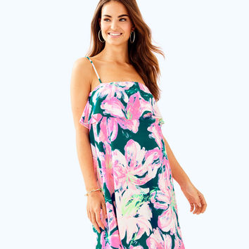 Annastasha Dress | 30079-tidalwavepansgarden | Lilly Pulitzer