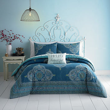 Jessica Simpson Aylin Medallion Comforter Mini Set | Dillards