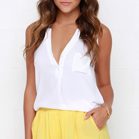 Ruffle Mania Yellow Shorts