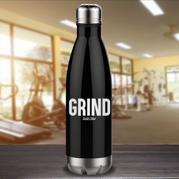 Grind Laser Etched Water Bottle